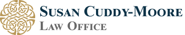 Susan Cuddy-Moore Law Office Header Logo